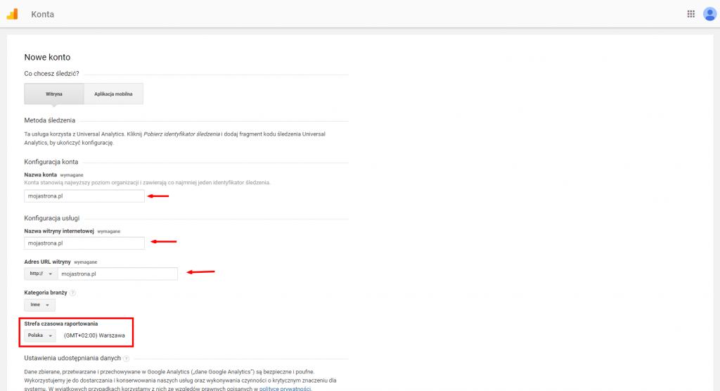 Analiza ruchu nastronie - Cześć 2. Google Analytics. 3