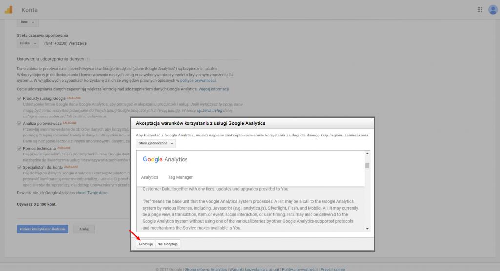 Analiza ruchu nastronie - Cześć 2. Google Analytics. 4