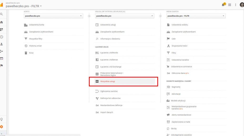 Analiza ruchu nastronie - Cześć 2. Google Analytics. 9