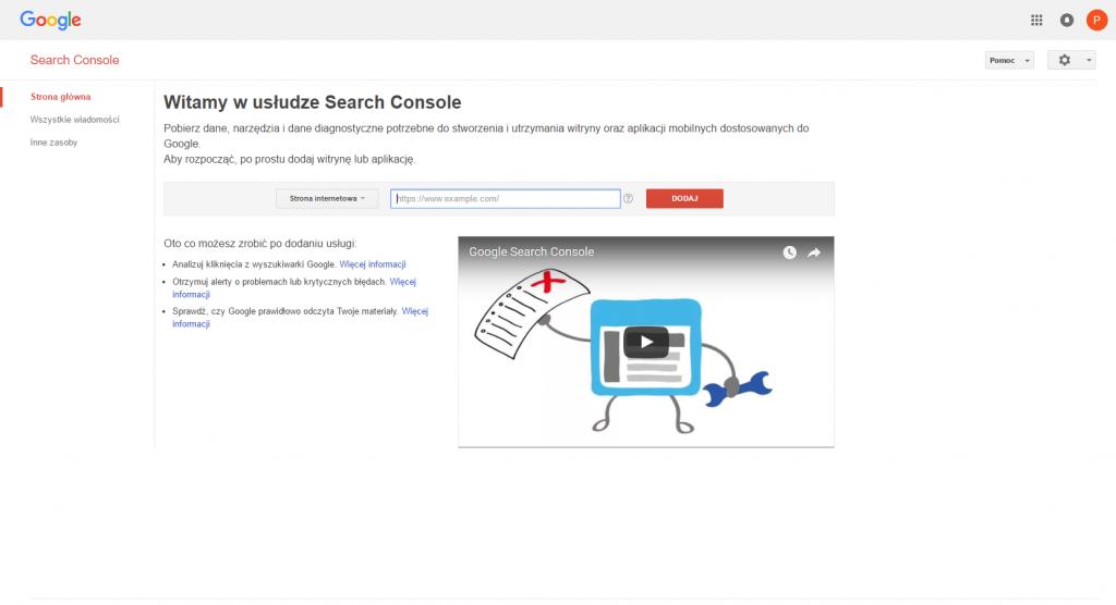 Analiza ruchu na stronie. Cześć 1 – Google Serach Console 3