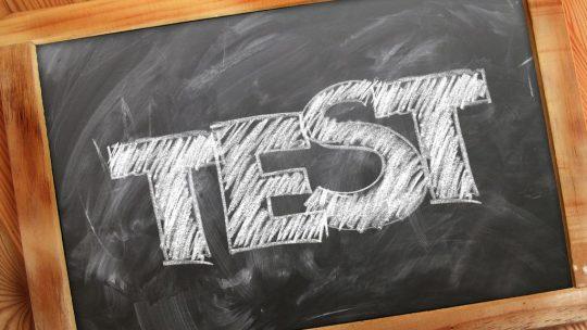 Wielkiego labów testu wyniki 1