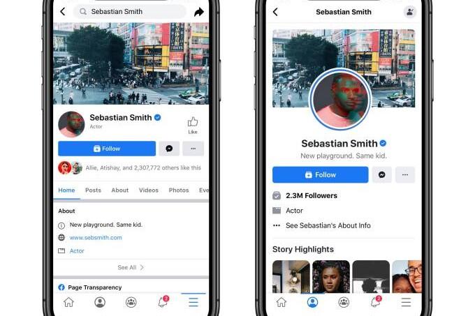 """Trwają testy nowego designu facebooka - czy to koniec """"Lubię to""""? 8"""