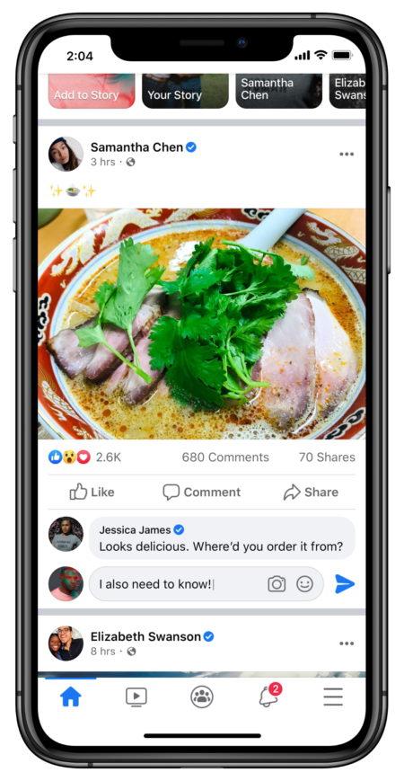 """Trwają testy nowego designu facebooka - czytokoniec """"Lubię to""""? 3"""