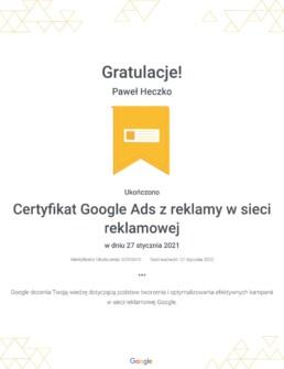 Certyfikat-Google-Ads-z-reklamy-w-sieci-reklamowej-_-pawel-heczko-1 2