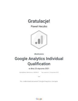 Google Analytics Individual Qualification _ Google 1